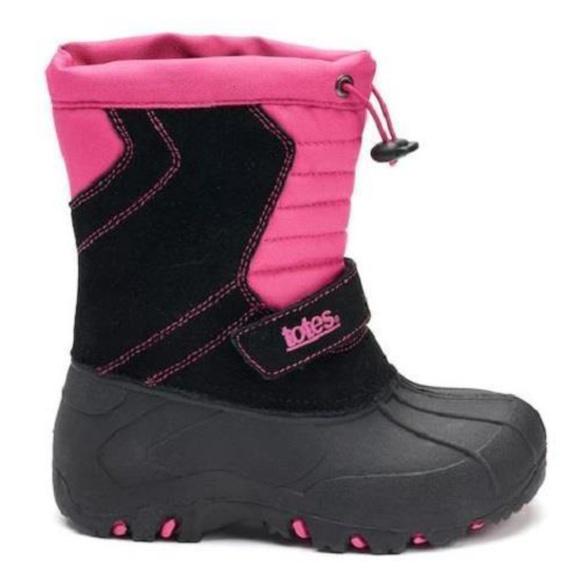 Totes Jojo Toddler Girls Winter Boots